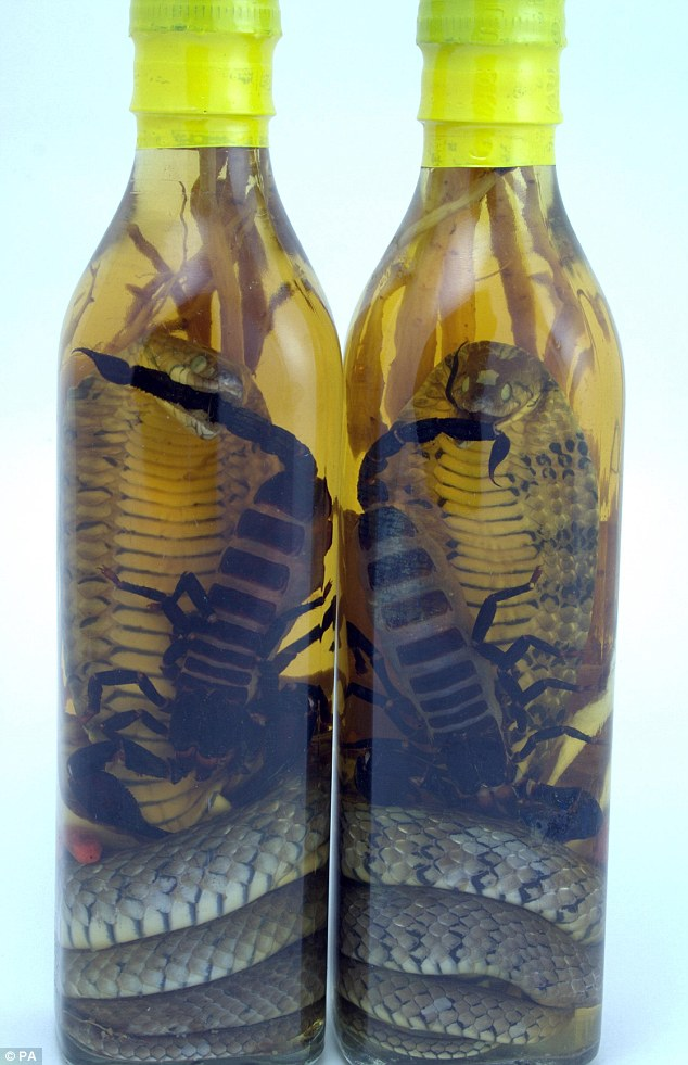 Vietnamese Snake And Scorpion Rice Wines Will Leave You