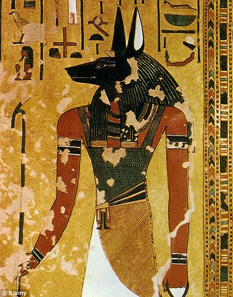 Anubis, the Jackal-headed weirdo