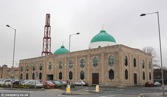 Claims: The Markazi Jamia Mosque, Keighley, Yorkshire, is where the alleged assaults happened