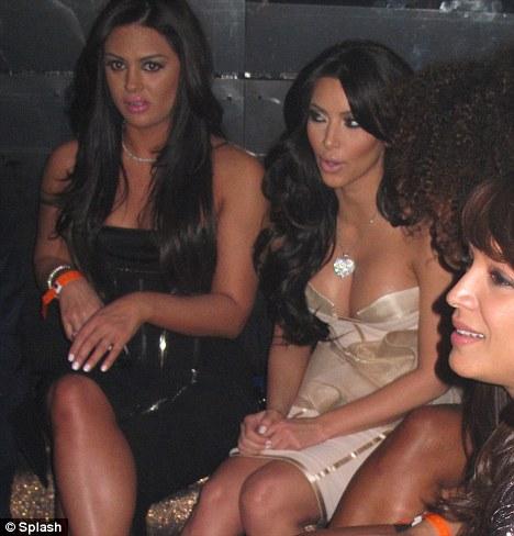 Kim Kardashian Parties Without Kris Humphries On Valentine