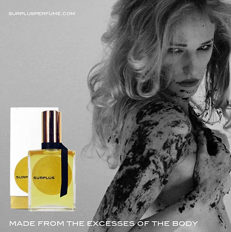 Surplus: Artist Jammie Nicholas created a perfume from his own body waste
