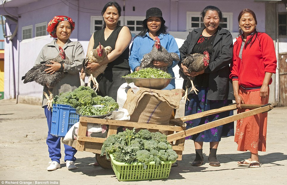 Feeling peckish? The senior ladies of the Chana family show what it takes just to make a meal