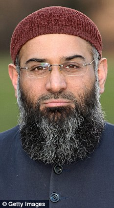 Call to arms: Muslim extremist Anjem Choudary will call for Sharia law to be established across the U.S.