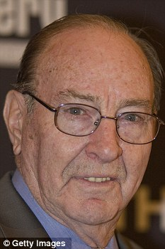 Theory: Astronaut Edgar Mitchell has praised his writings on a 'shadow U.S. government' using alien technology