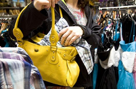 Image result for someone shoplifting