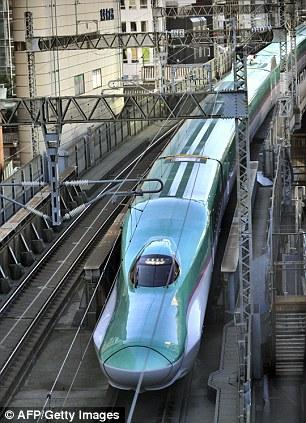 Hayabusa the new luxury 186mph Japanese bullet train that