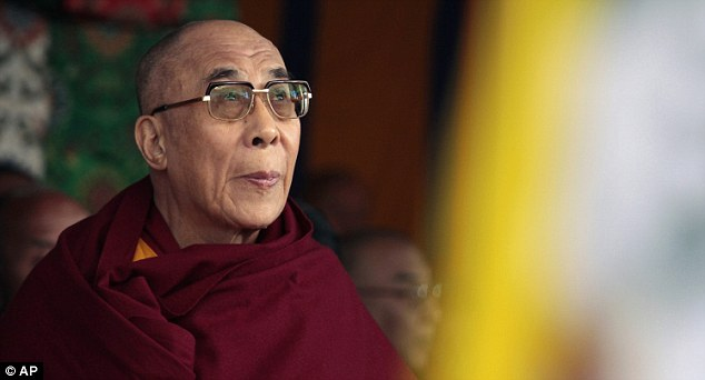 A life of exile: But the Dalai Lama said that his decision did not mean he was despondent about Tibet's struggle with China