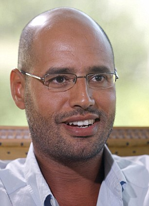 Property: Saif Gaddafi owns the £11m Hampstead home which has been taken over by the group of squatters