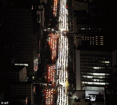 Sendai traffic