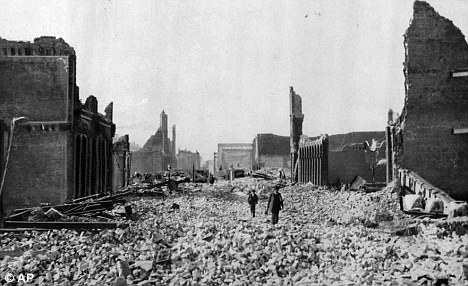 Previous fault: California's San Andreas Fault last ruptured in 1906 when San Francisco was devastated by an earthquake and subsequent fires