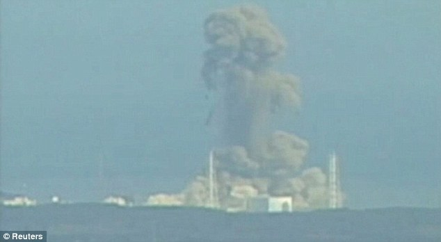 Extensive damage: Experts are now debating whether a radiation cloud could reach the West Coast
