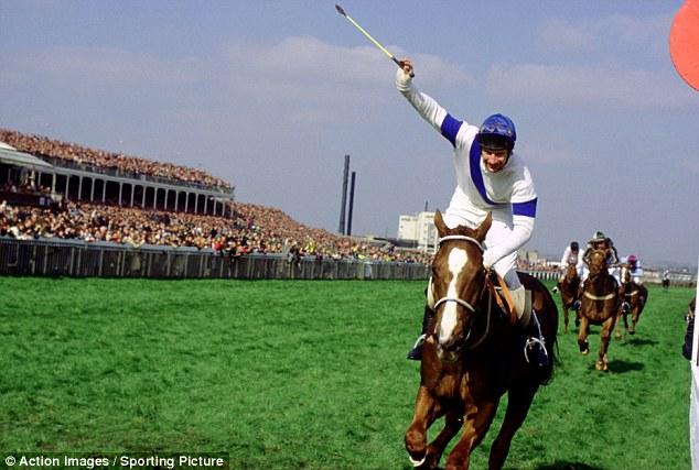 Glory day: Bob Champion brings home Aldaniti to a famous triumph in 1981