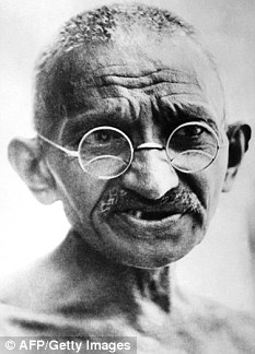 Revolutionary: The claims made in the book are likely to be disputed by millions of Gandhi's followers across the globe