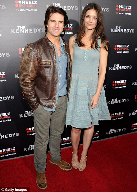 Tom Cruise and Katie Holmes lovedup at premiere of mini