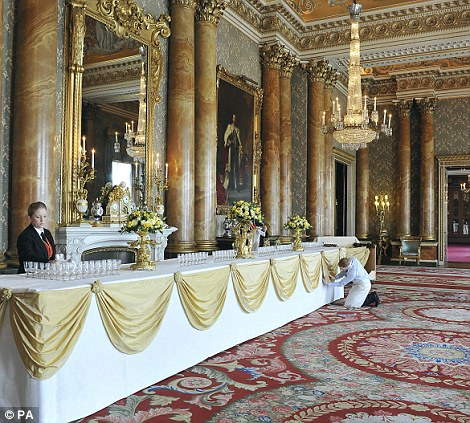 Royal Wedding guests to sample best of British food in 19 splendid rooms  Daily Mail Online