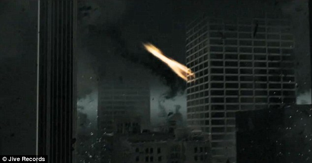 Apocalypse now: Meteors litter the sky destroying everything in their path...