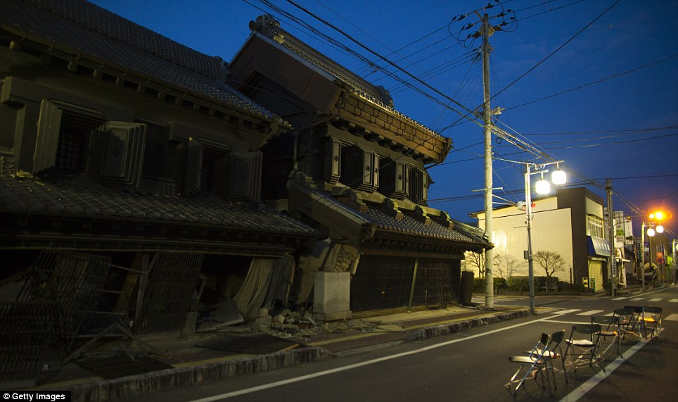 Japan nuclear disaster Pictures show tsunamiravaged