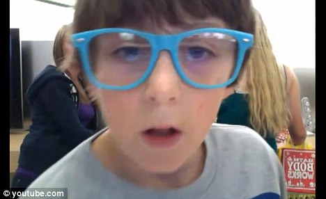 12 Year-old Biter, Trevor Michael,is the fake Apple Store Kid