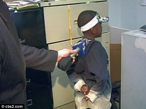 Specialed boy 7 traumatised after cops HANDCUFF him