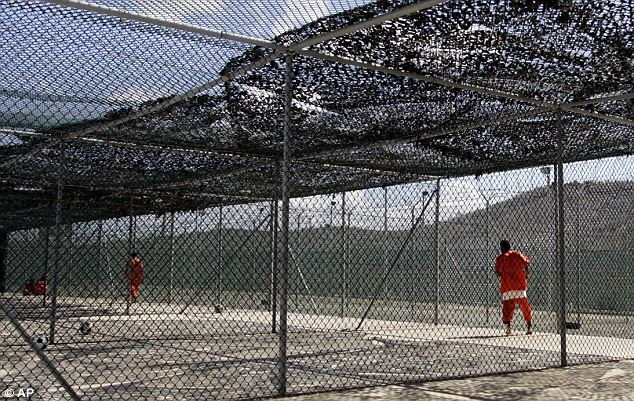 Disturbing claims: The files obtained from interrogations of detainees at Guantanamo Bay, above, reveal top terrorist commanders' boasts about impending attacks