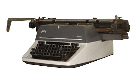 Godrej and Boyce, Prima, the last manual typewriter manufactured in the world
