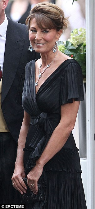 All change: Carole Middleton