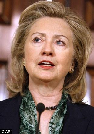 Secretary of State Hillary Clinton makes her statement regarding the death of Osama bin Laden
