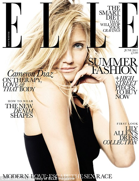 The full interview appears in the June issue of ELLE Magazine, on sale now