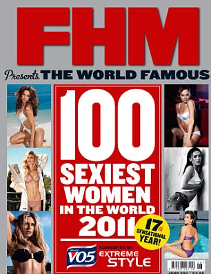 FHM's 100 Sexiest Women In The World 2011 issue