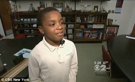 Inspiration: Her seven year old brother said he is very happy for her as he also wants to go to Harvard