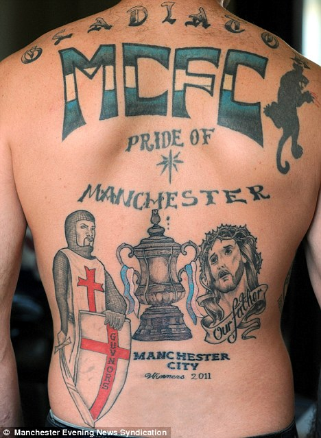 Game Grumps Quotes Wallpaper Football Fanatic Gets Tattoo To Celebrate His Team S Fa