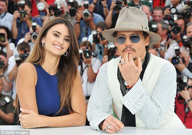 Image result for johnny depp and penelope cruz
