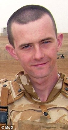 Killed: When Rifleman Joseph Murphy died in July 2009, the regiment was reeling from the death of another comrade two months earlier