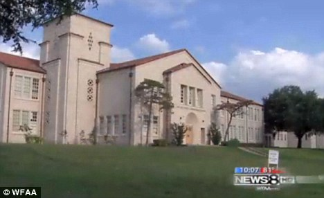 Incident: Boude Storey Middle School in Dallas are launching an investigation into the matter