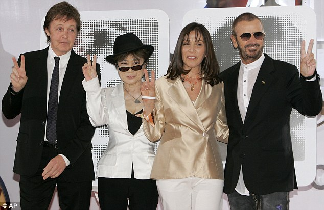 Ringo works with Sir Paul and the widows of John and George, Yoko Ono and Olivia Harrison, on managing the Beatles legacy
