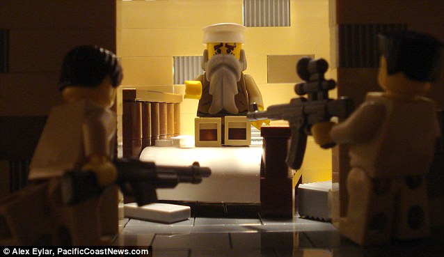 Bricking it Killing of Osama Bin Laden gets Lego treatment  Daily Mail Online