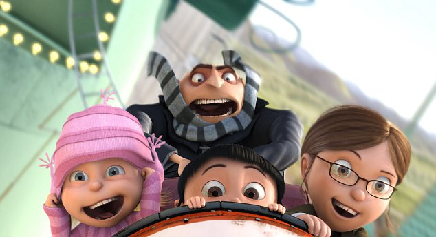 Image result for gru's daughters despicable me