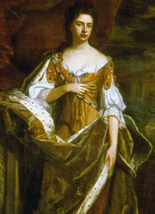 Mary II (1662-1694), elder daughter of James II