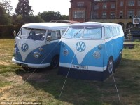 The tent that thinks it's a campervan now you can sleep