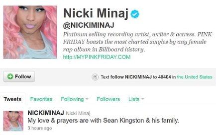 The Jamaican/American singer is enjoying huge success with single Letting Go (Dutty Love) with rapper Nicki Minaj