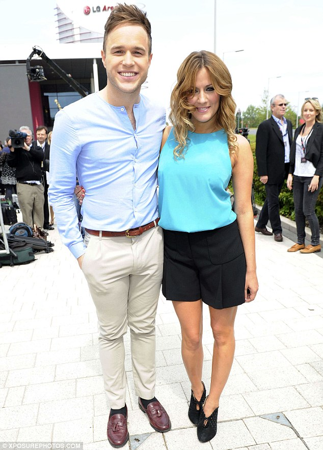 Behind the scenes: Olly Murs and Caroline Flack will present the ITV2 spin-off show The Xtra Factor