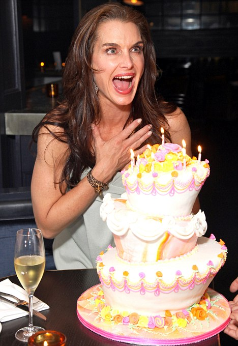 Happy Birthday to me Brooke Shields looks fabulous at 46