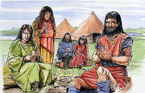 Early settlers during the Neolithic age