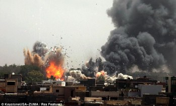 Image result for bombing libya
