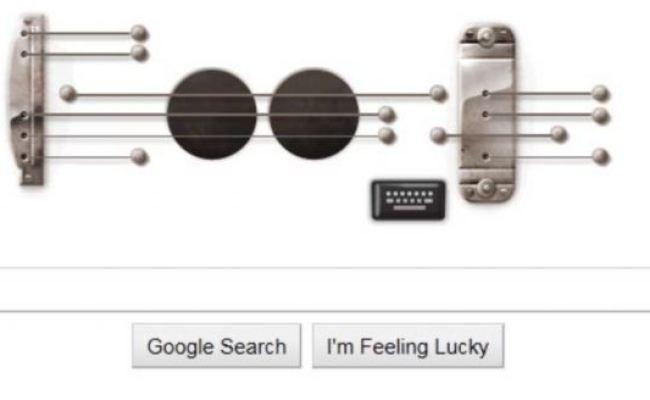 Les Paul Google Doodle Guitar Pioneer Honoured With