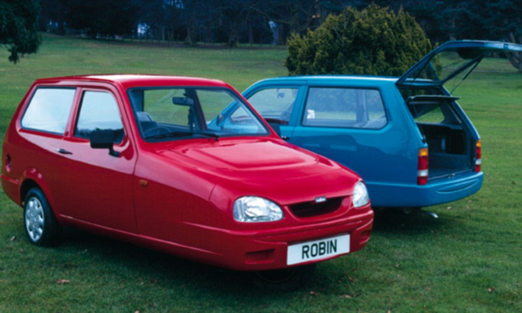 Reliant Robin Drivers Are The Safest On The Road Daily