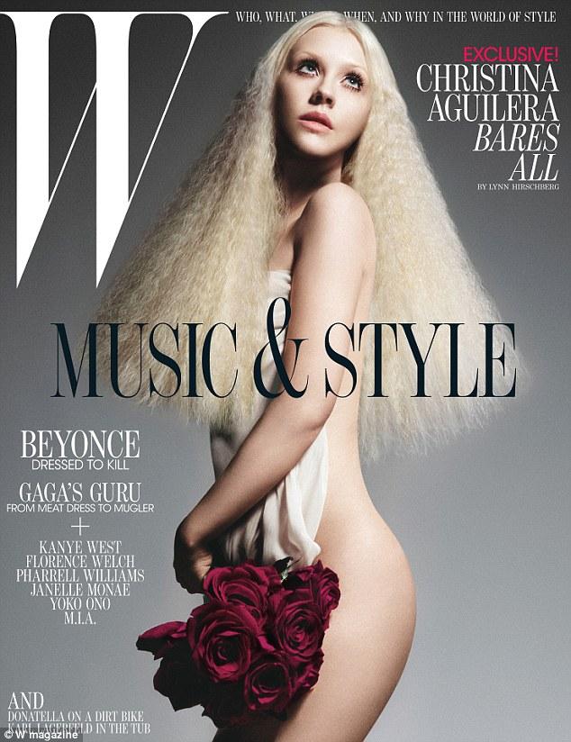 Christina Aguilera Looks Surprisingly Svelte As She Poses
