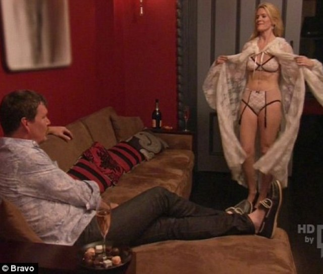 Reunion Alex Mccord Puts On A Lingerie Show For Her Husband Simon After Returning From