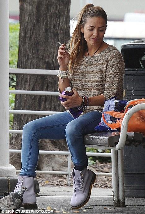 Frank Lampard S Ex Elen Rivas Looks Glum As Christine