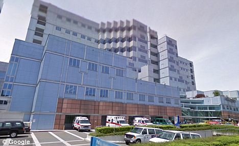 Cause for alarm: OHSU Hospital officials had no record of a Dr Lucas Ebert when a woman approached an information desk to ask about her scheduled surgery